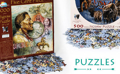 Shop our puzzles, featuring some of David Behrens' most popular artworks