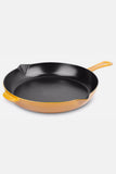 Saffron Yellow Cast Iron Fry Pan - Staub
