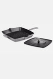 Cast Iron Grill Pan With Press - Staub