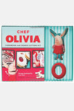Chef Oliva Cookbook and Cookie Cutter Kit