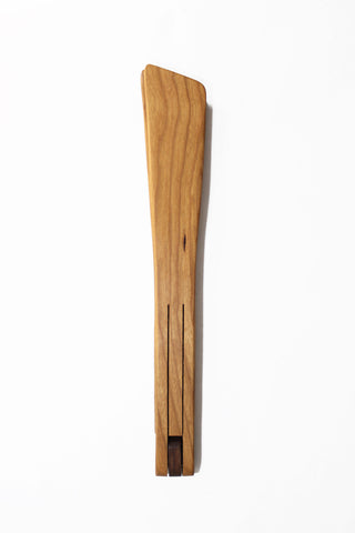 Cherry Wood Serving and Cooking Tongs