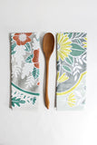Floral Kitchen Towels - One Canoe Two