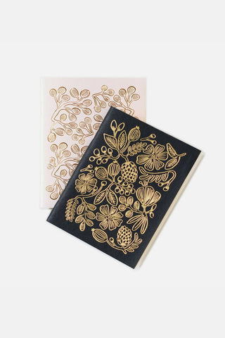 Gold Foil Pocket Notebooks - Rifle Paper Co.