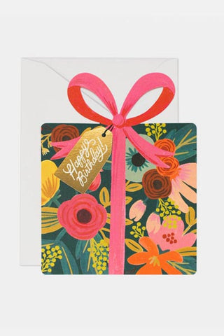 Happy Birthday Present Card - Rifle Paper Co.