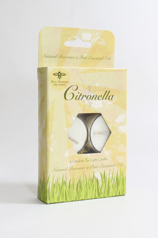 Beeswax Citronella Candles