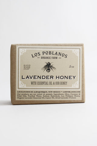Lavender Honey Handmade Soap Bar - Los Poblanos