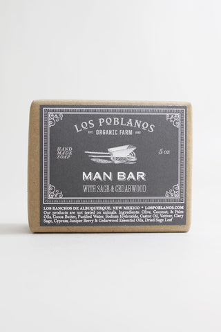 Man Bar Handmade Soap - Los Poblanos
