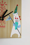 Polar Bear Bamboo Clock - Jude Morales - Sosie and Gogo