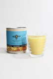 Beeswax Glass Candle