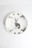 Sitting Hare Shallow Serving Bowl - Laura Zindel
