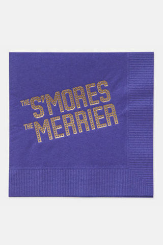 The S'mores the Merrier Paper Napkins - Farewell Paperie