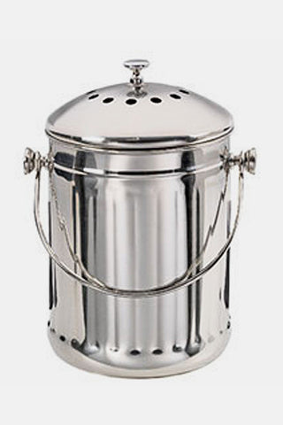 Stainless Steel Compost Pail - RSVP / Endurance