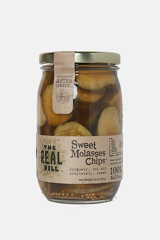 Sweet Molasses Chips - The Real Dill