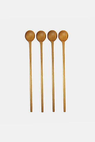 Teak Stirring Spoons