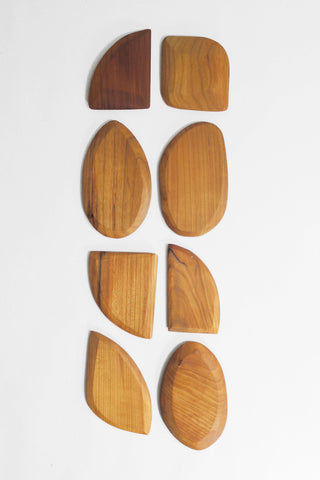 Wood Dough Scrapers - Jim Benson