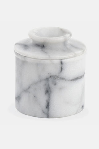 Marble Butter Pot Crock Holder - RSVP / Endurance