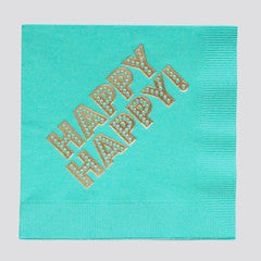 Paper Cocktail Napkins - Happy Happy
