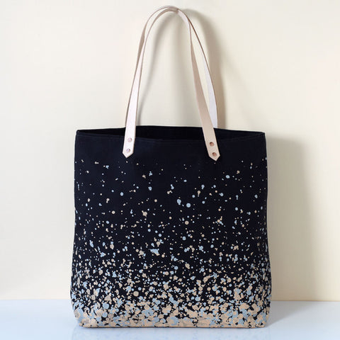 Carryall Canvas Tote Bag - Splatter