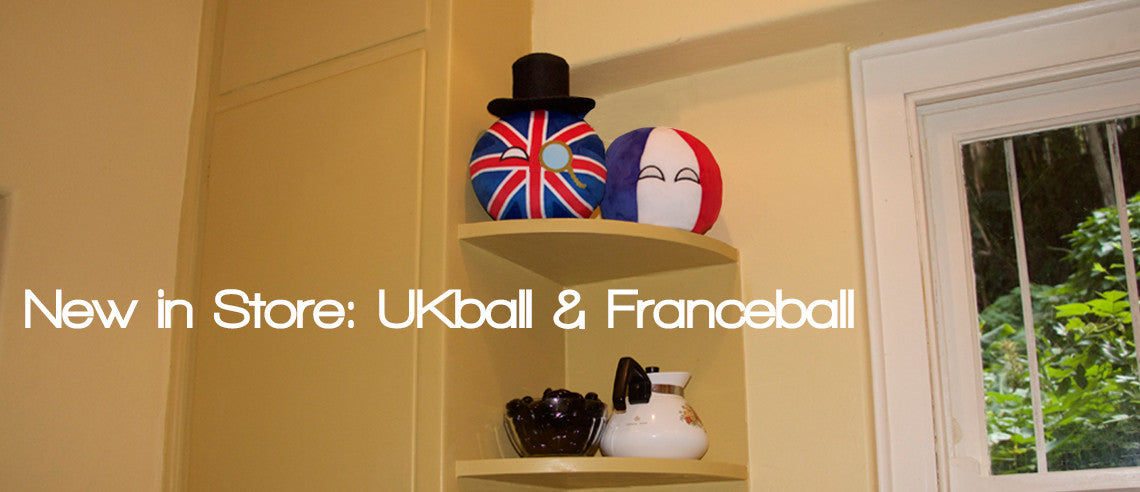 New in Store- UKball/Franceball