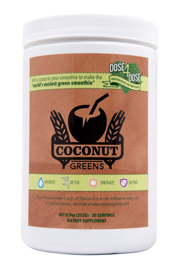 Coconut Greens - love coconut water? Need more greens?