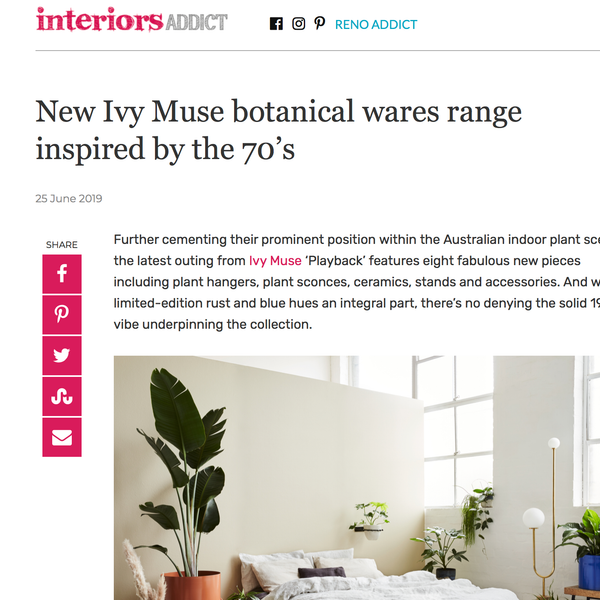 Interiors Addict / June 19