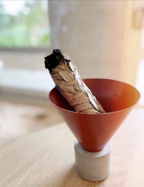 The ancient healing practice of burning sage to cleanse your home.