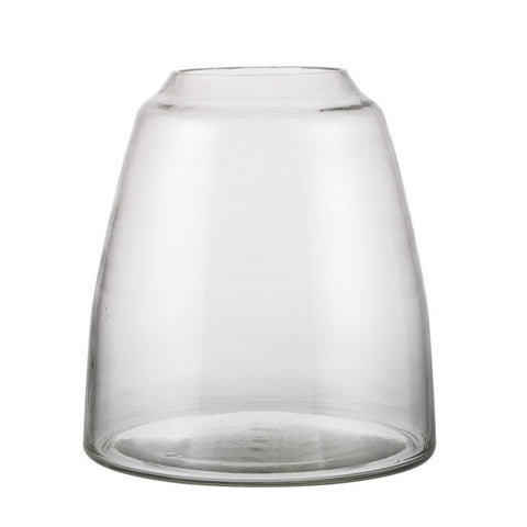 ZAKKIA HOMEWARES Tapered Vase | Clear