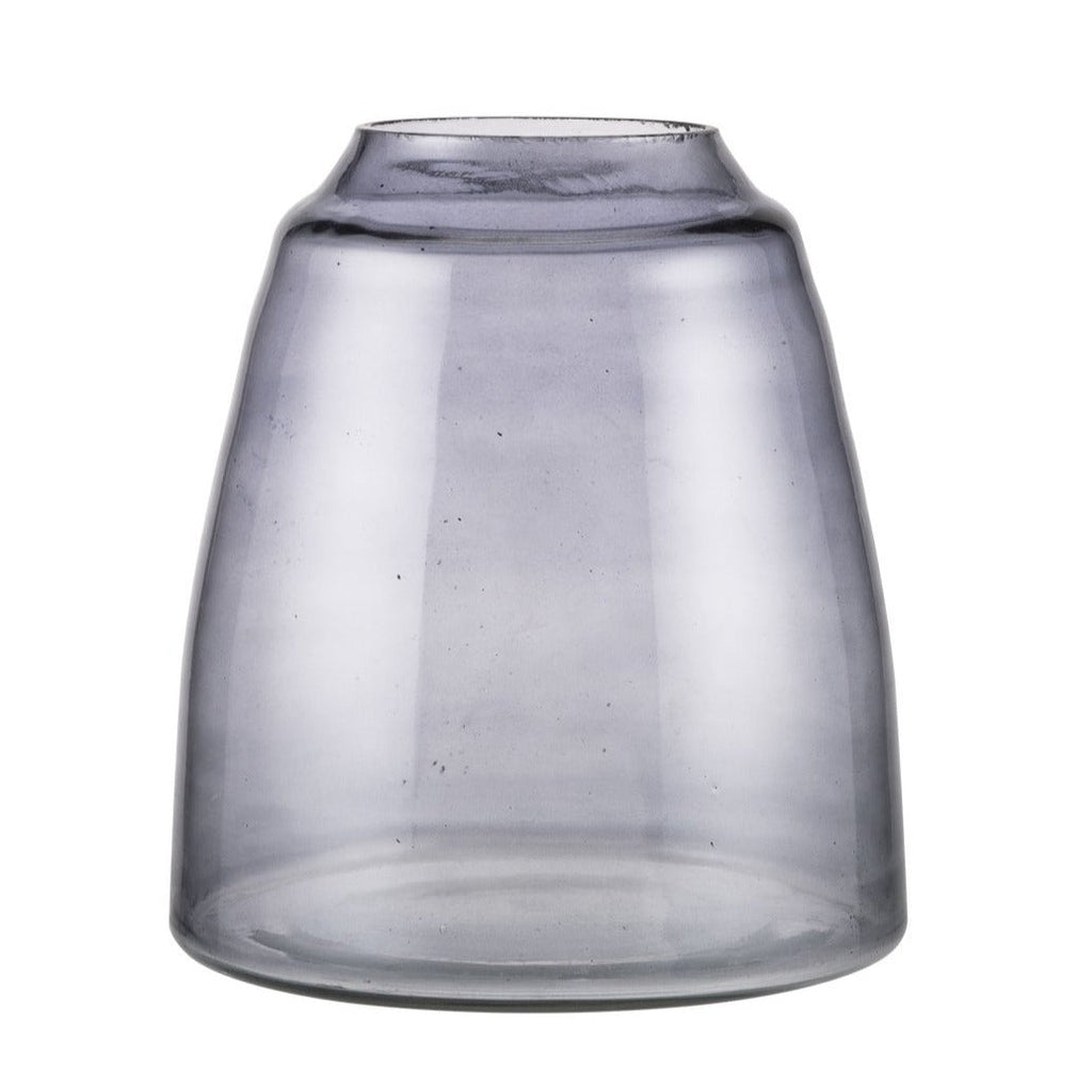 ZAKKIA HOMEWARES Tapered Vase | Smoke