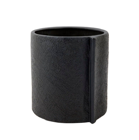 ZAKKIA HOMEWARES Burlap Pot | Large Black