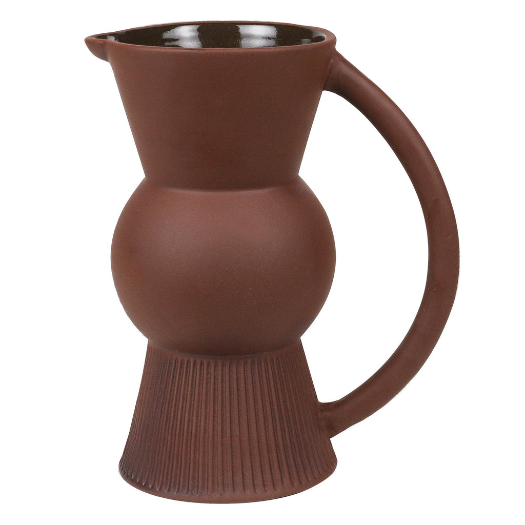 ROBERT GORDON POET'S DREAM WATER JUG | CHOCOLATE