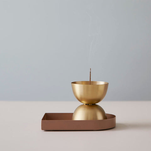 LIGHTLY Essence Burner | Brass