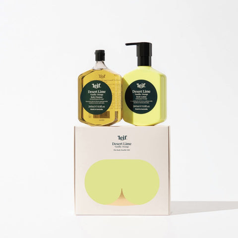 LEIF BODY DOUBLE DESERT LIME | SML
