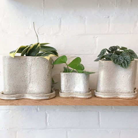 NATALIE ROSIN Puddle Planter | Natural