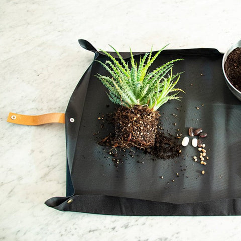 BOTANOPIA Potting Tarp for the Urban Gardening | Leather