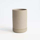 HASAMI Planter + Saucer Small | Natural