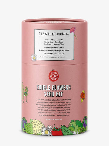 The Little Veggie Patch Co EDIBLE FLOWERS SEED KIT