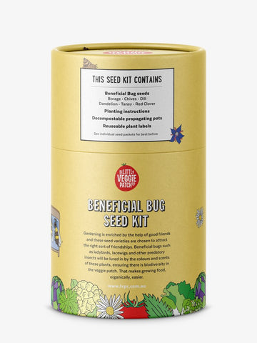 The Little Veggie Patch Co BENEFICIAL BUG SEED KIT
