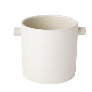 ZAKKIA Handle Pot White