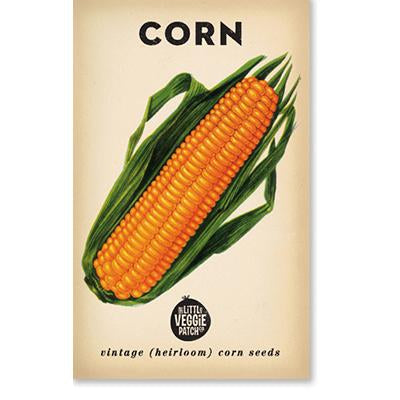 The Little Veggie Patch Co CORN 'SWEET' HEIRLOOM SEEDS