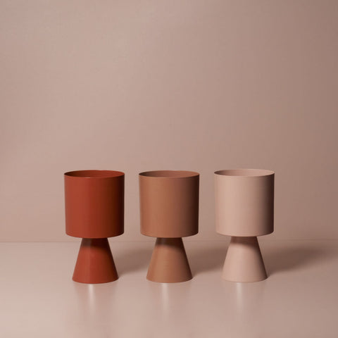 LIGHTLY Palm Springs Planter Medium | Various Colours