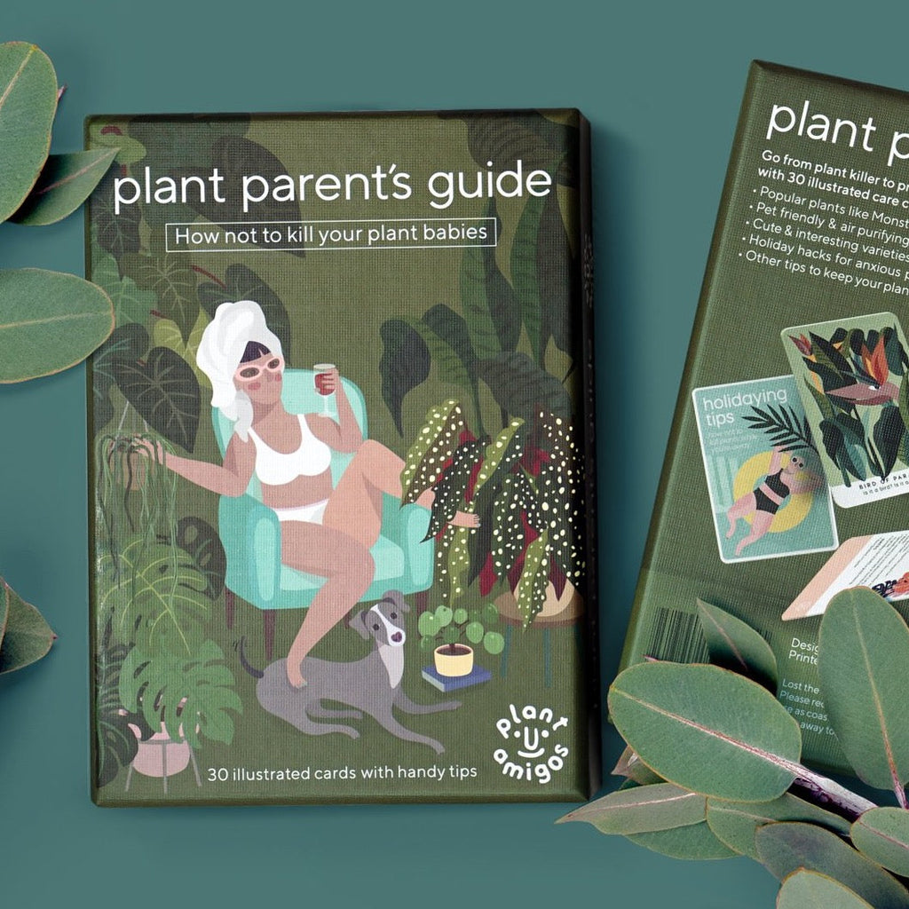 PLANTAMIGOS Plant Parent's Guide | Deck of Cards