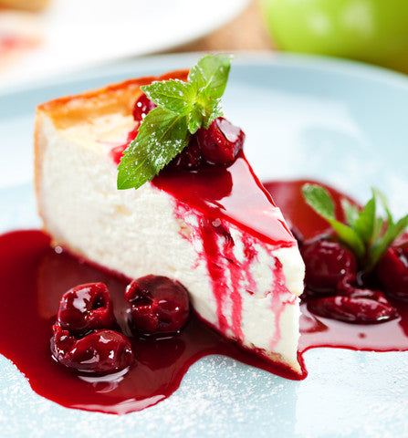 eggless_cherry_cheesecake