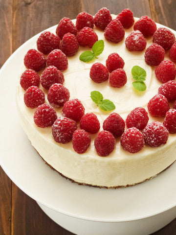 raspberries_on_a_vegan_cheesecake