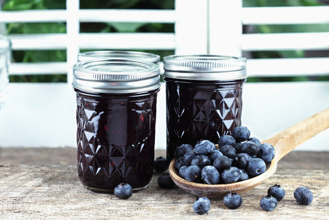 vegan blueberry sauce