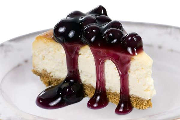Sirabella's Blueberry Vegan Cheesecake
