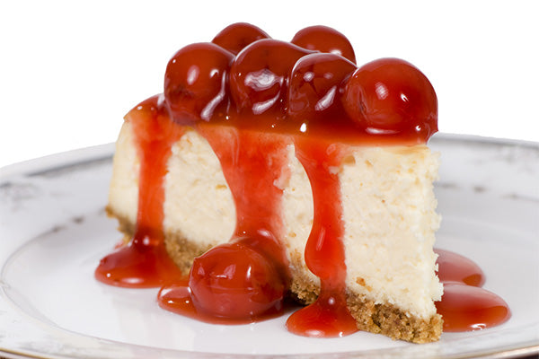 Sirabella's Cherry Vegan Cheesecake
