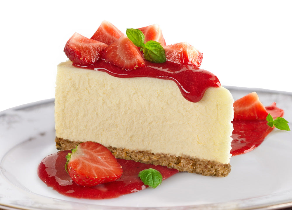 Sirabella's Strawberry Vegan Cheesecake