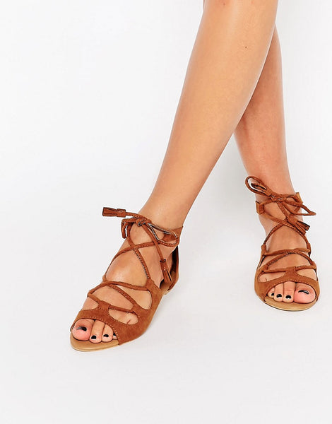 Lace up sandal asos