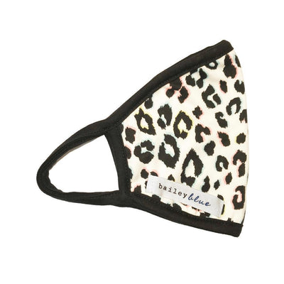 The Bailey Blue Pattern Face Coverings (Adults) Masks Bailey Blue Pattern - Rainbow Cheetah