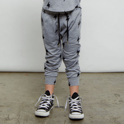 The Chase: Kids Joggers Bottoms Bailey Blue